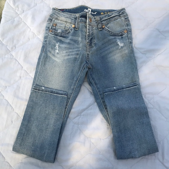 7 For All Mankind Other - 7 for All Mankind Skinny Jean with distressing